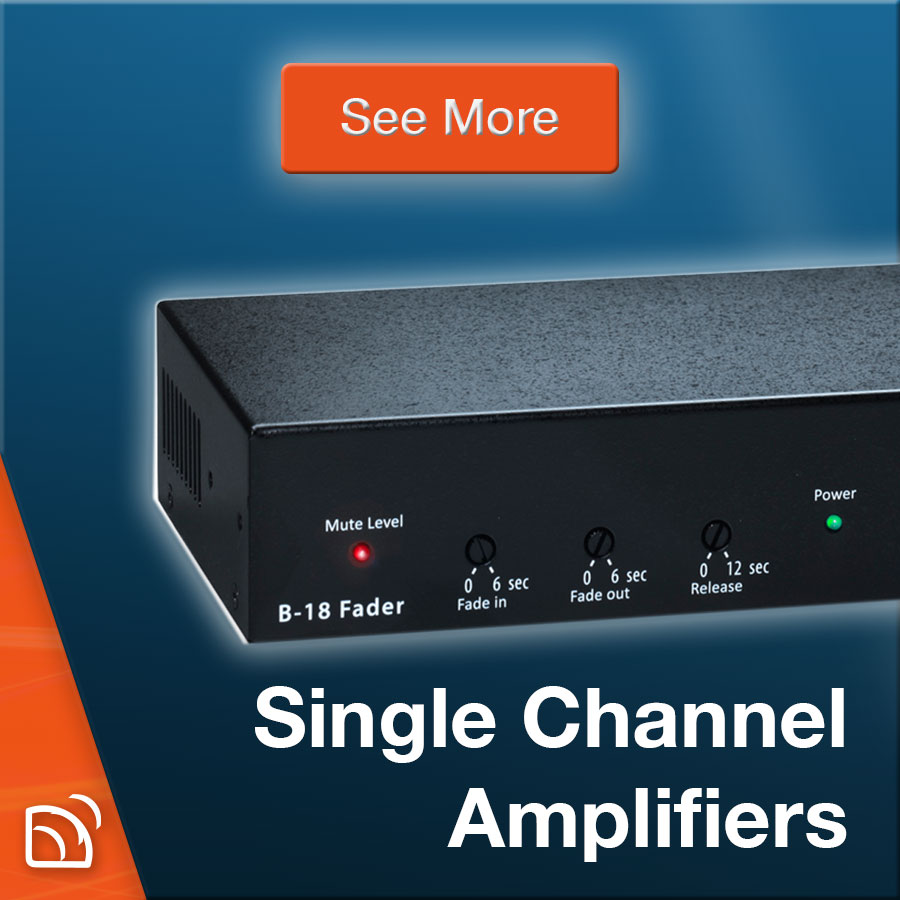 Single Channel Amplifiers