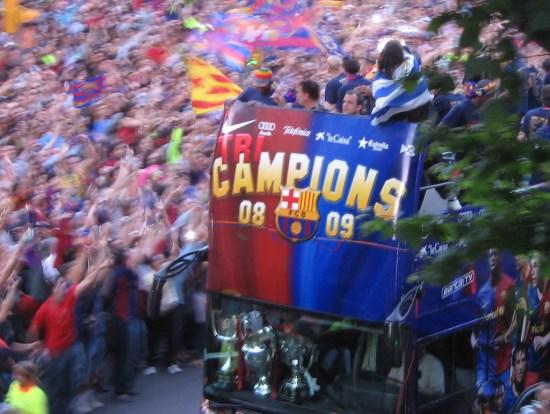 Barça's best year