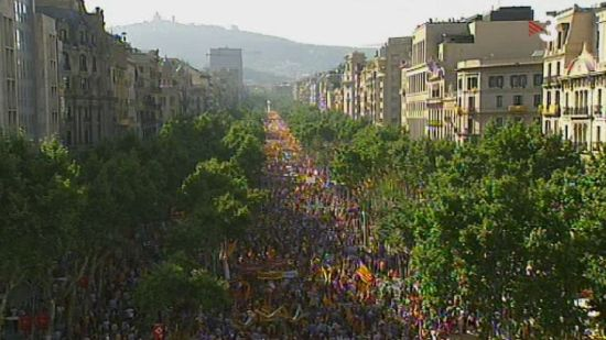 Catalan independence demonstration