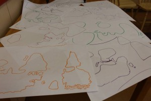 World Map Drawing Party2