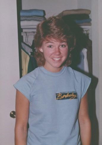 Lisa as an undergraduate student at Berkeley