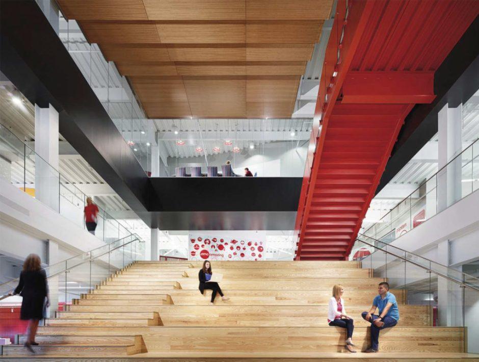 Grand stairway - Heathcock Hall conceptual sketch
