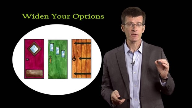 widen your options