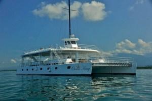 imagen del catamaran