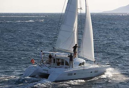 Catamaran Charter italy on board Lagoon 380 S2