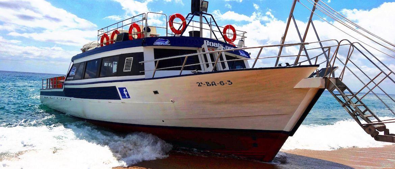 Barco fiestas Platja d'Aro