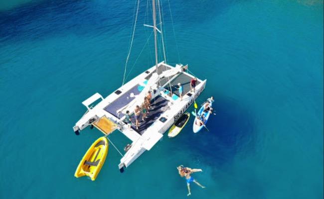 Alquiler de catamarán en Playa de Aro