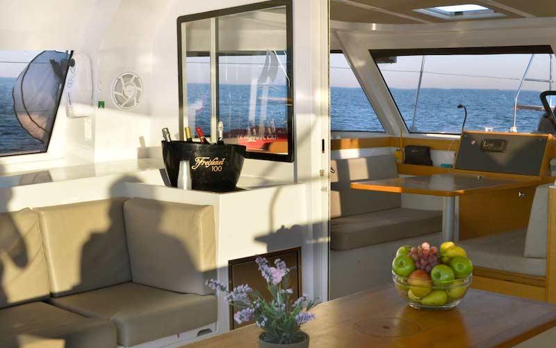 Llogeur de veler amb patró a la Costa Brava