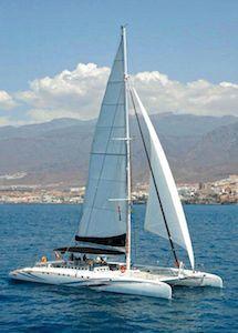 Catamaran Tenerife Freebird