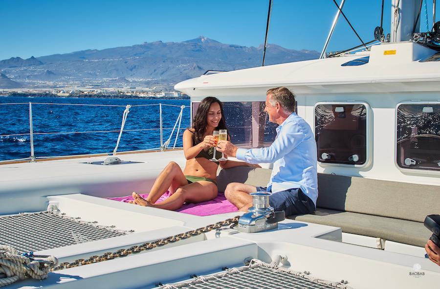 Excursiones en catamarán en Tenerife