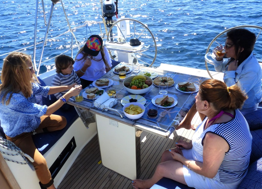 Servicio de catering a bordo