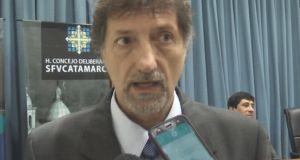El concejal Gilberto Filippín (FCS), Gilberto Filippín,