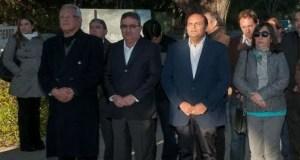 Gustavo Saadi, Diputada Cecilia Guerrero, Intendente Raul Jalil, Dante Lopez Rodriguez,