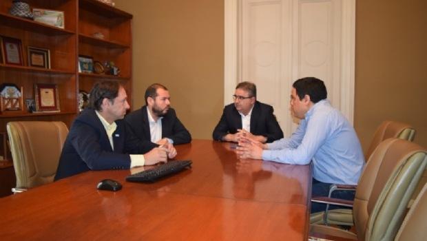 Intendente Raúl Jalil, Concejal Juan Cruz Concejal Miranda, Daniel Zelaya