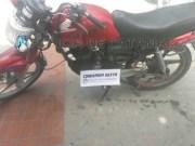Policia de Catamarca, Moto secuestrada