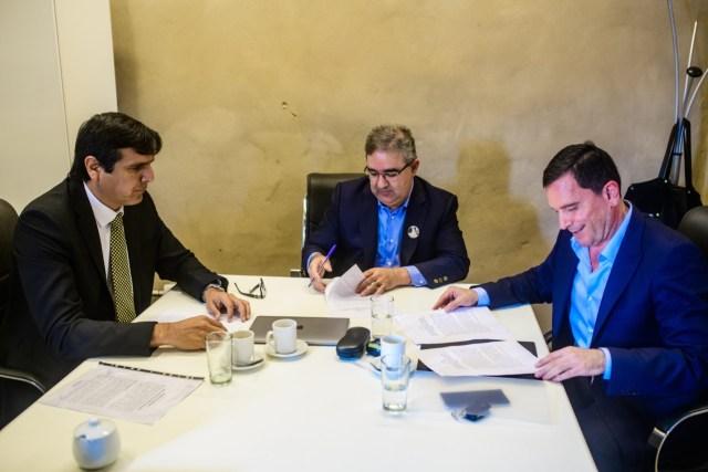 Fidel Saenz, Raul Jalil, Hernan Martel