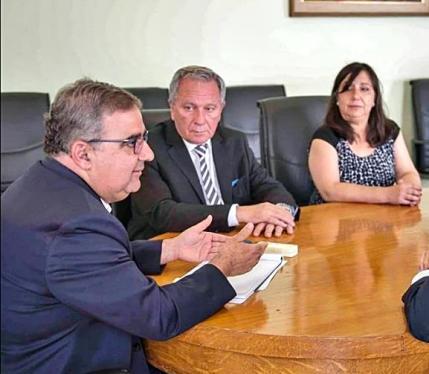 Raul Jalil, Ruben Dusso, Cecilia Guerrero