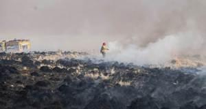 Brigada contra incendios, bomberos catamarca, incendio
