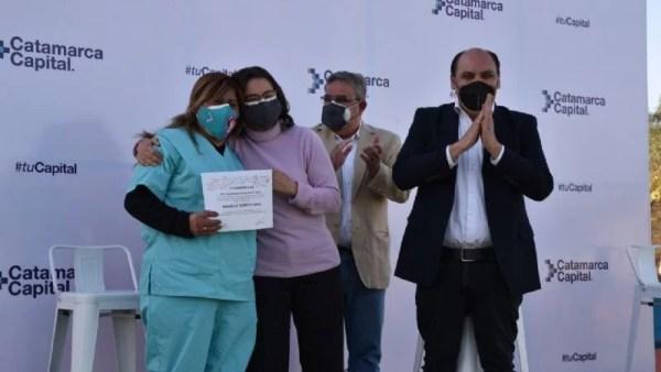 Lucia Corpacci, Raul Jalil, Gustavo Saadi