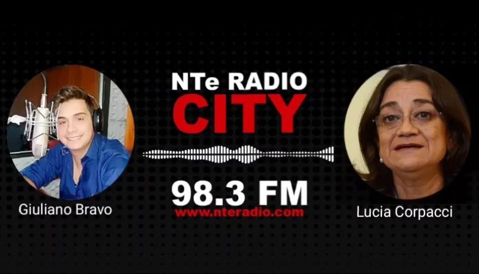 Lucia Corpacci, Diputada Lucia Corpacci, Radio City Catamarca, nte radio city
