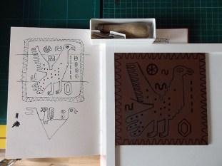 Peru Print Series – Third Print In Progress