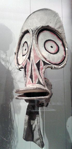 Mask at the British Museum