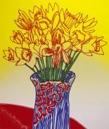 Daffodils, marker pen & Photoshop © Catherine Cronin
