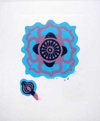 Anenome third colour printed © Catherine Cronin