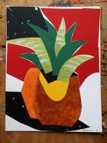 Aloe, collage © Catherine Cronin