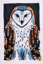 Barn Owl - watercolour 3 © Catherine Cronin