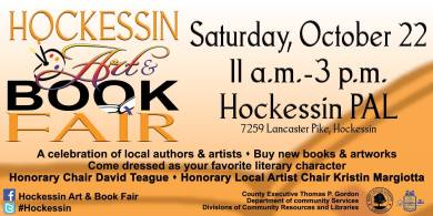 Art & Book Fair, Hockessin, Delaware
