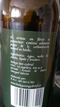 cerveza san gabriel