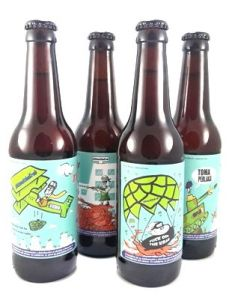 attack the krab ,foto: https://www.2d2dspumacervezartesana.com/attack-the-krab-cerveza-solidaria/
