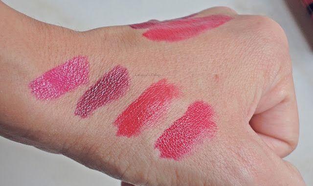 bourjois rouge edition lip swatches