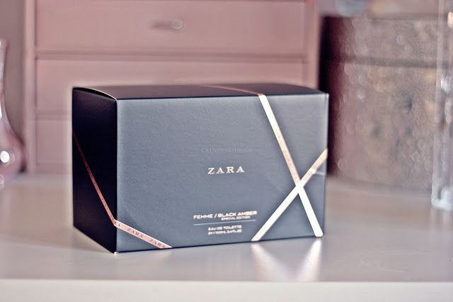 zara special edition femme black amber