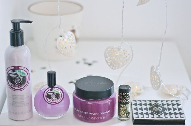 the body shop christmas 2015 sugar plum ciruela escarchada review opiniones