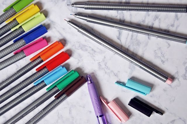 papelería, material de oficina, escritorios, colores, rotuladores staedtler triplus baratos