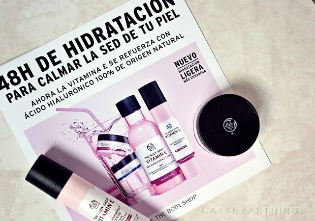 nueva vitamina e the body shop reseña opiniones