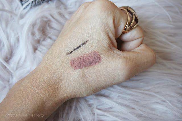 bow n arrow look swatches ink liner everlasting liquid lipstick kat von d