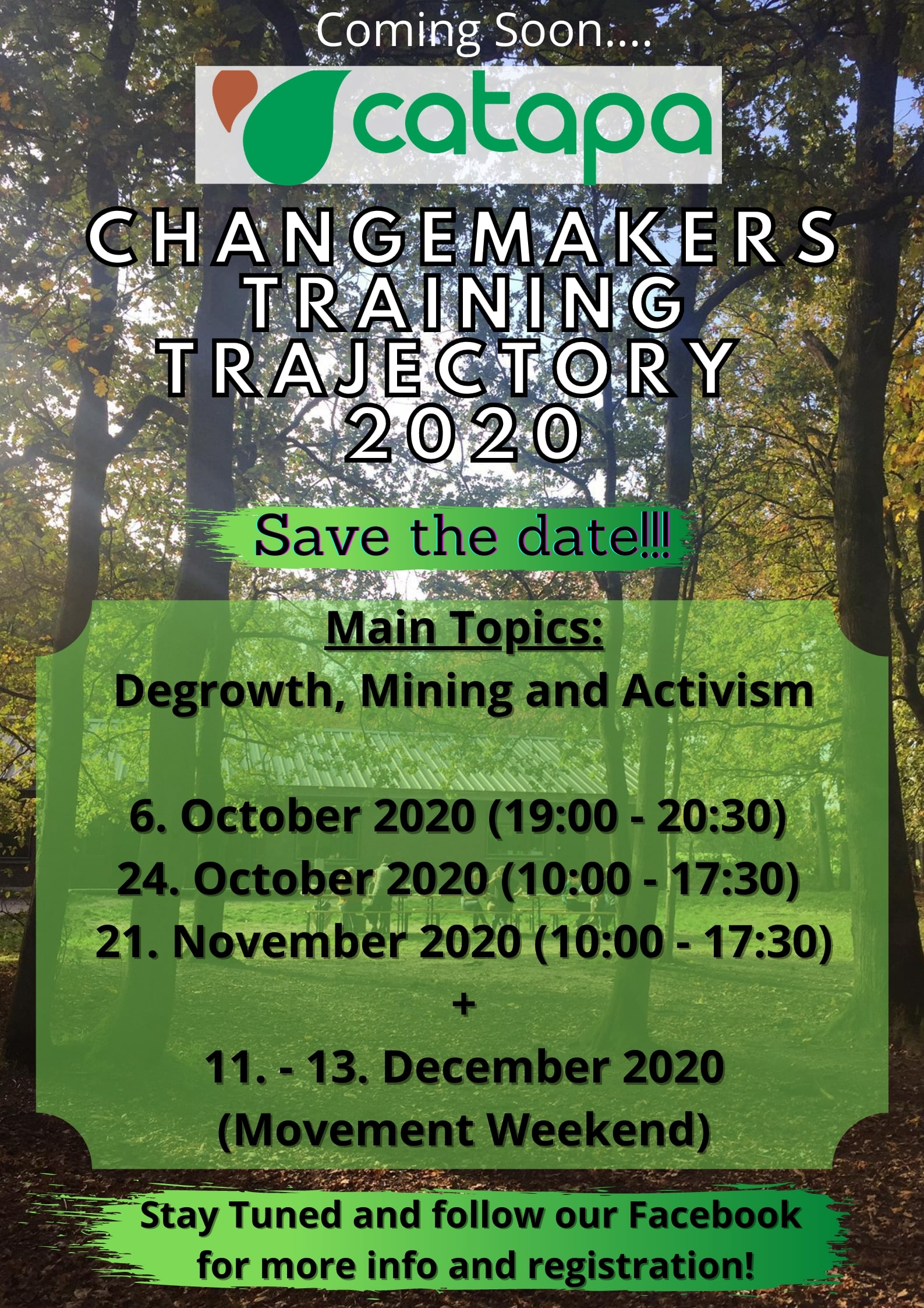 Changemakers Trajectory 2020_Promo_Newsletter