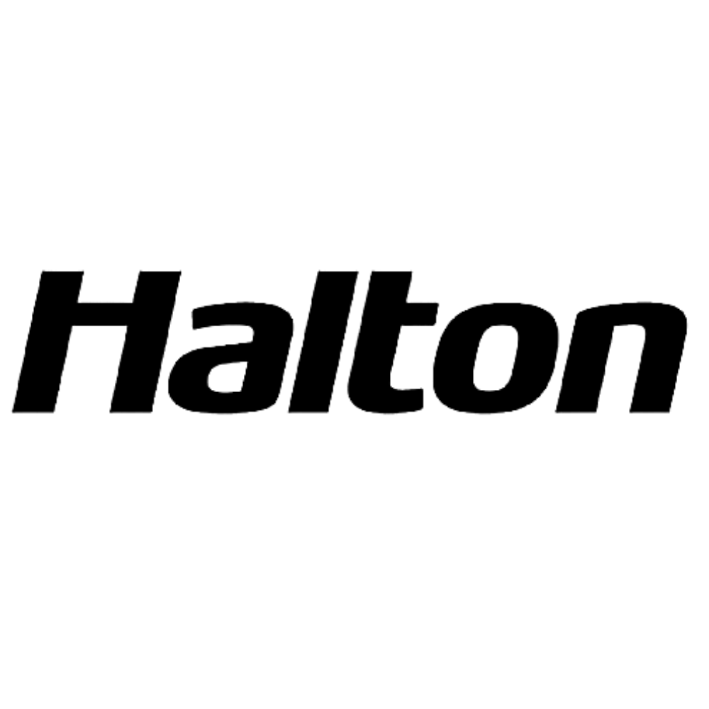 Halton logo black and white transparent png