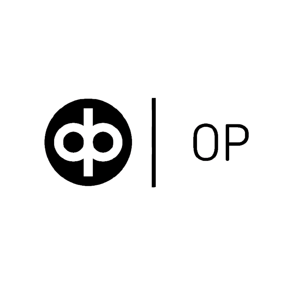 OP logo black and white transparent png