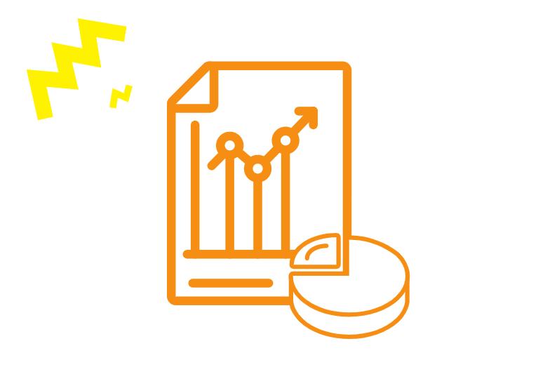 Orange research paper stocks investment catapult