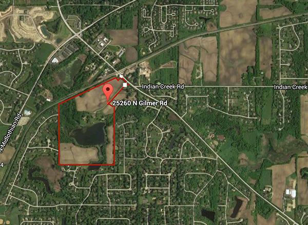 Bresen Lake map