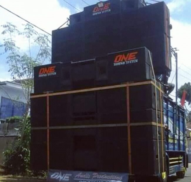 sound system karnaval
