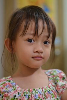 Ini si Nisa (umur 3 tahun) :D
