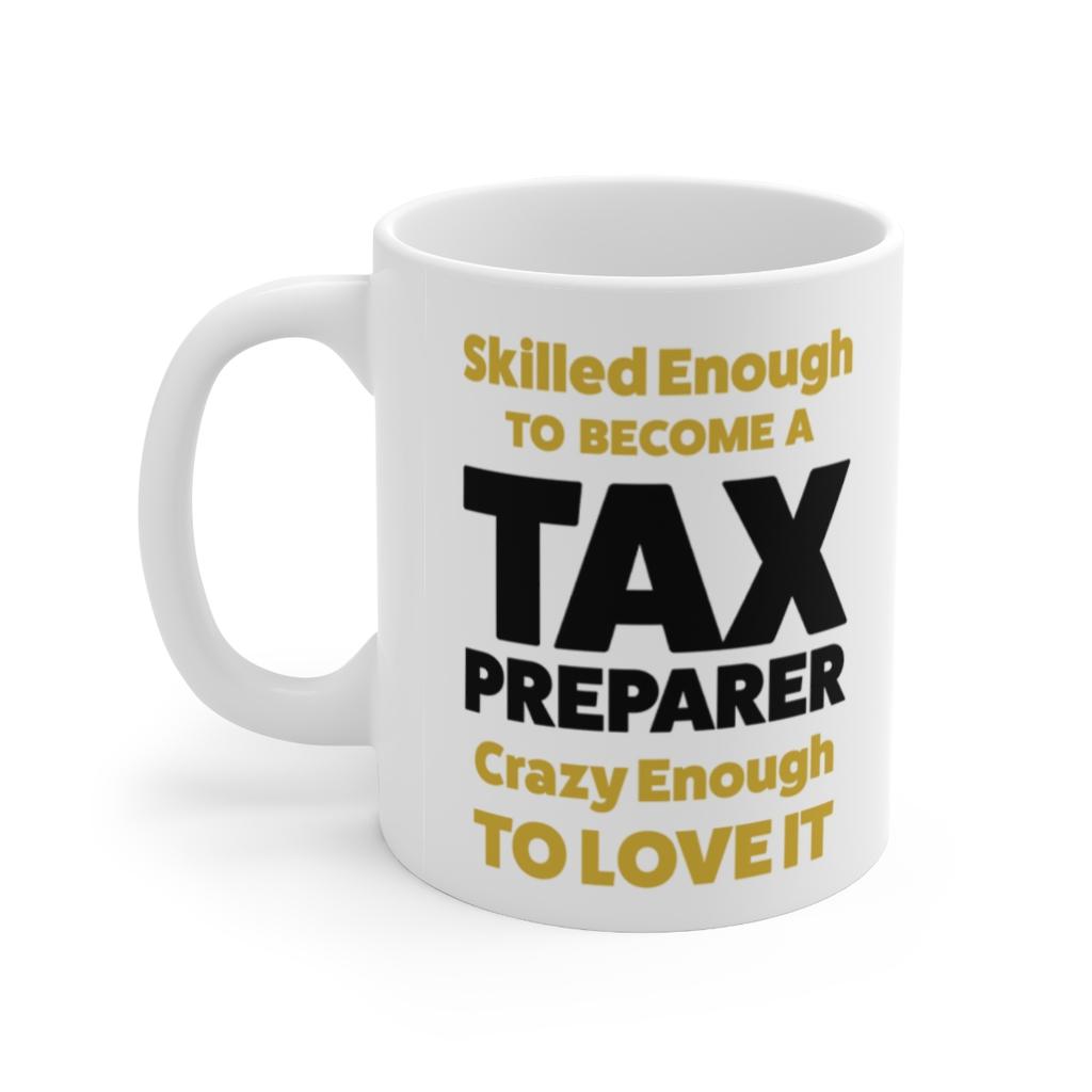 Official Tax Preparer Coffee Mug 11oz