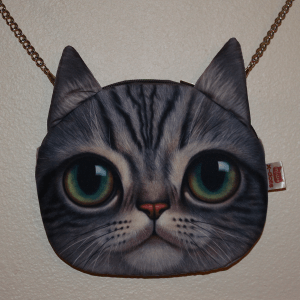 Cat Chain Purse