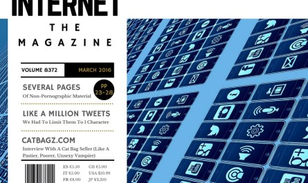 Internet - The Magazine Featured an Interview With CatBagz.com Author Scooter!