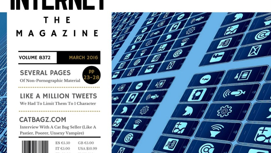 CatBagz.com Interview in This Months Edition of Internet – The Magazine